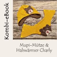 Kombi eBook Halswärmer Charly & Mupi-Mütze Bild 1