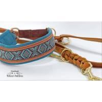 Halsband MEDIVAL mit Zugstopp für deinen Hund, Rhodesian Ridgeback, Hundehalsband, Martingale Bild 1