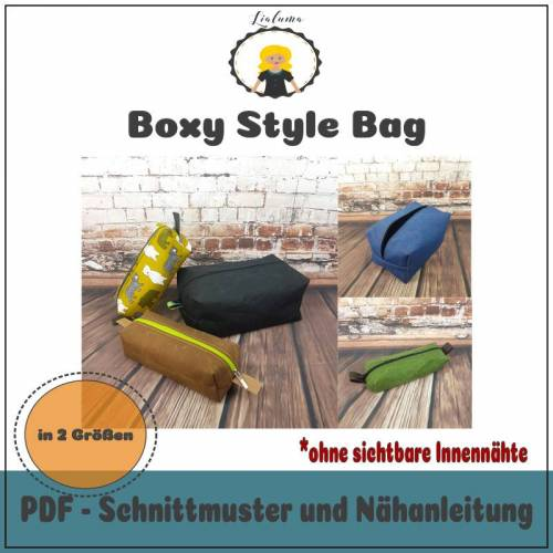 Nähanleitung Boxy Style Bag