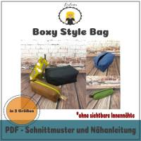 Nähanleitung Boxy Style Bag Bild 1