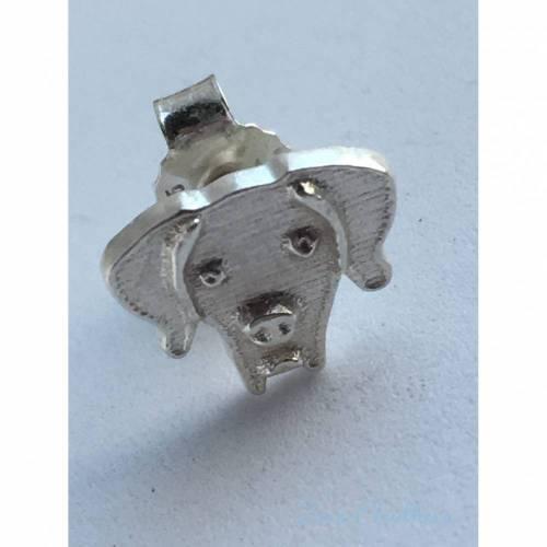 Hund Ohrring -nach Photo- 925 Silber