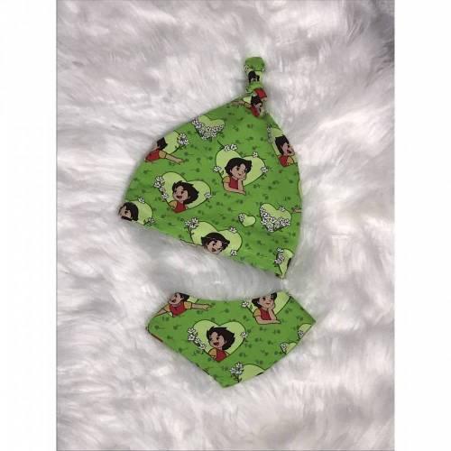 Babyset Heidi grün geschenkset geburt Erstausstattung 50/56