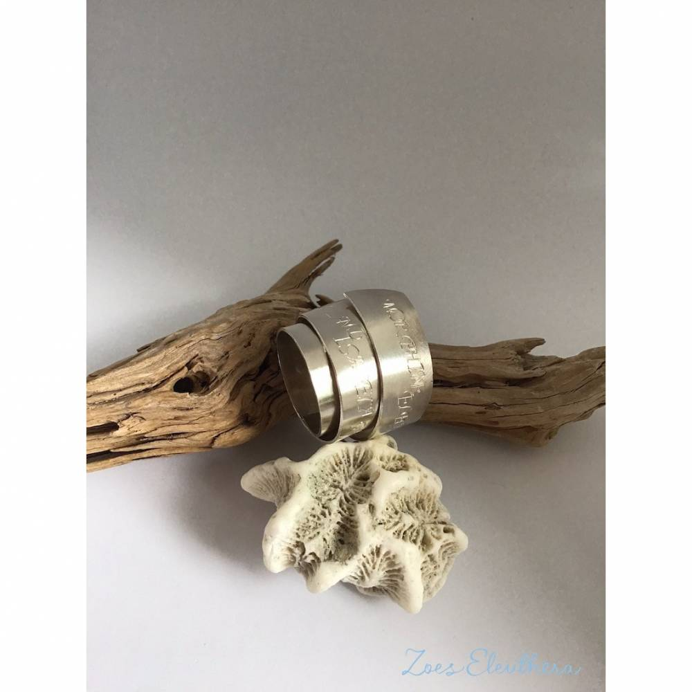 Ring Silber Wickelring Bild 1