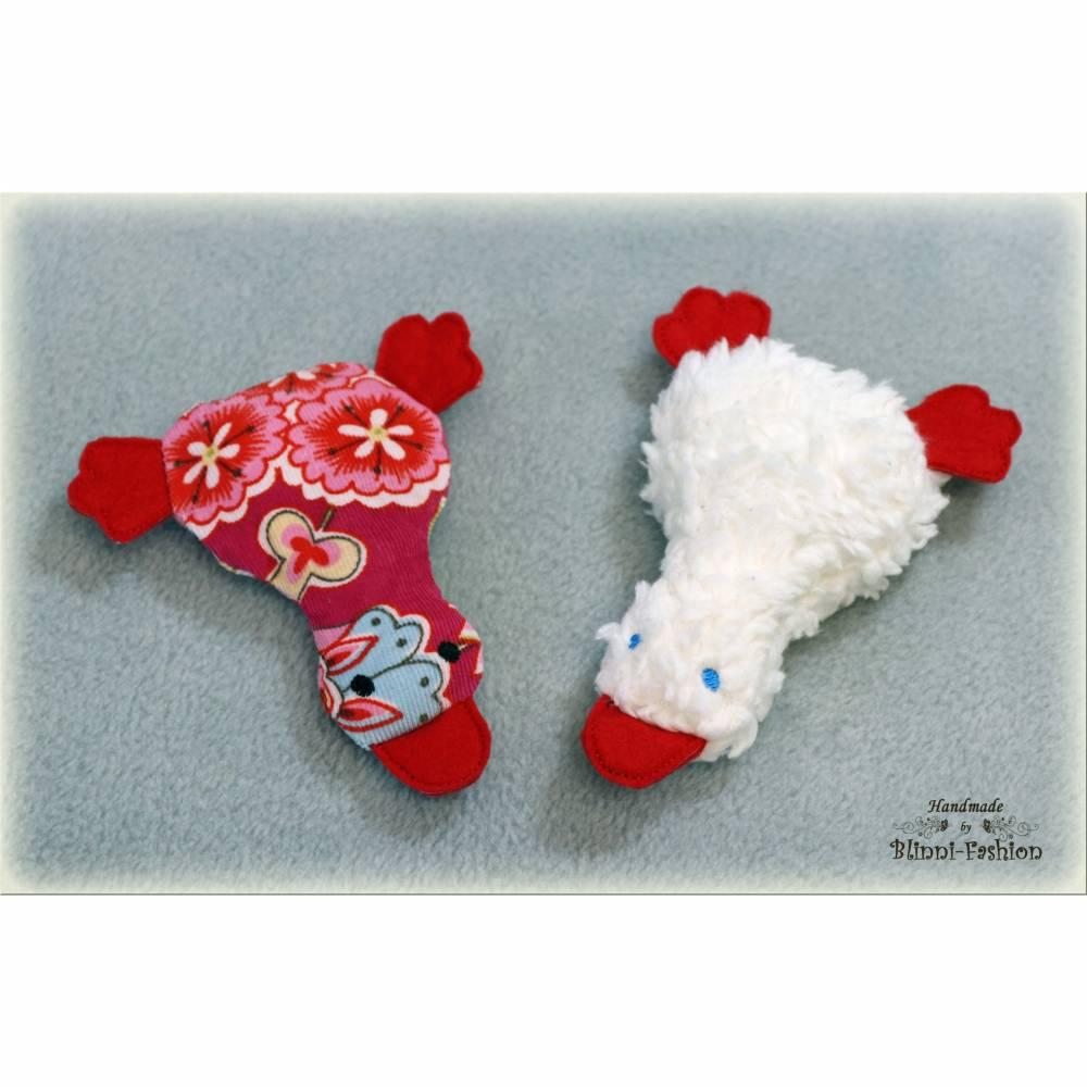 Crazy Duck - Katzenspielzeug mit MATATABI, süße Ente für deine Katze SILVER VINE CatNip Bild 1