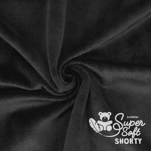 1x Super Soft SHORTY Plüsch Kullaloo schwarz