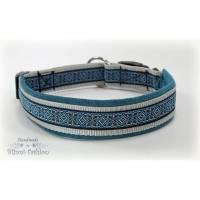 Hundehalsband mit Klickverschluß für deinen Hund, Halsband in drei Varianten Bild 1