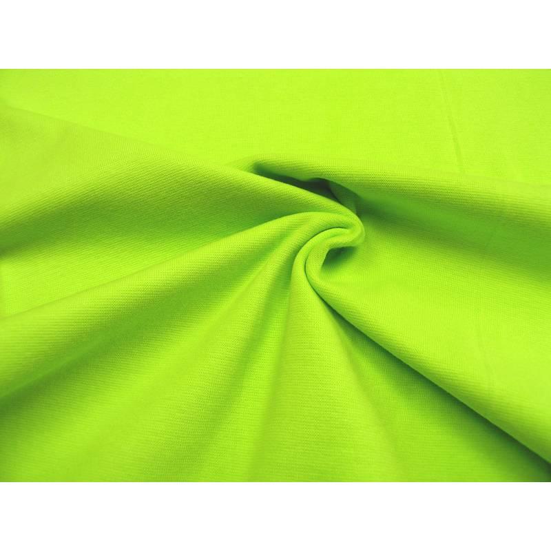 Bündchen • uni • kiwi • 0,5m Bild 1