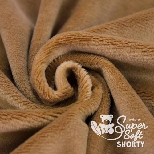 1x Super Soft SHORTY Plüsch Kullaloo braun