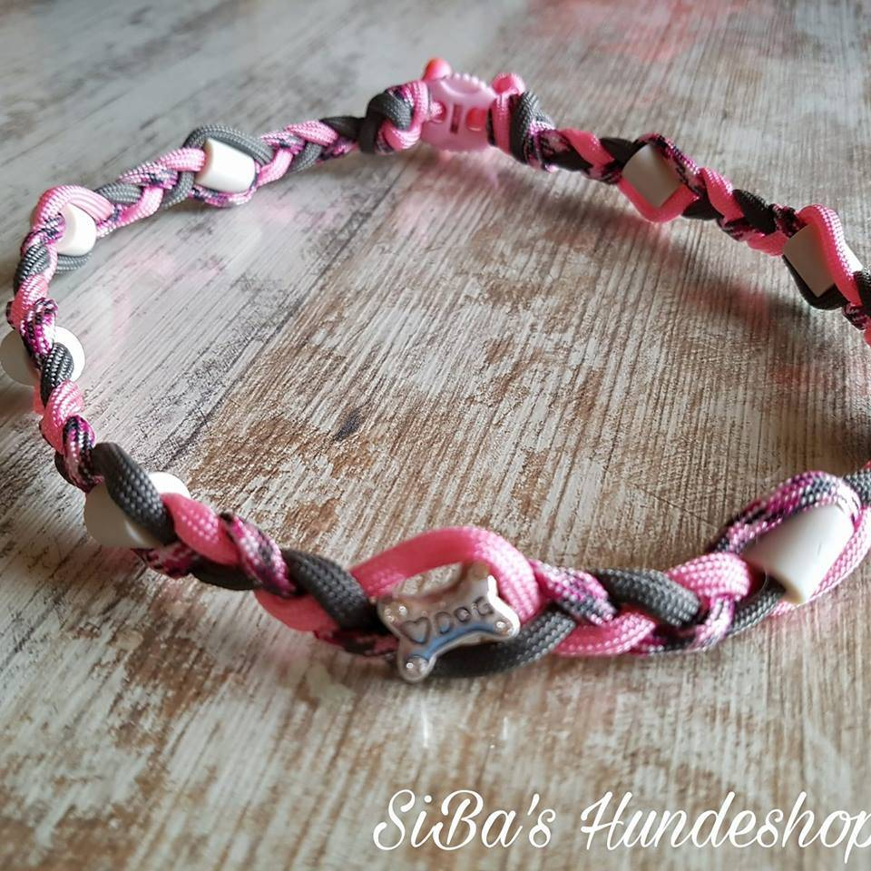 EM Keramik Halsband geflochten Bild 1