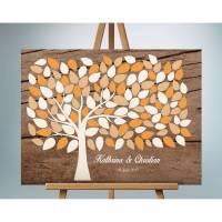 Geburtstagsgeschenk Gästebuch, Hochzeitsbaum Wedding tree Bild 1
