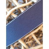 Baumwoll/Polyester Gurtband Navy 40mm Bild 1