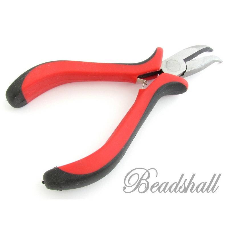 1 Spitzzange Schmuckzange gebogen gekröpft Werkzeug Zange Bild 1