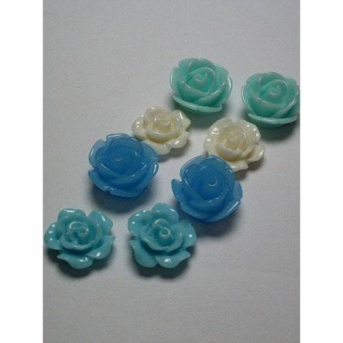 8 Blumen, 11 mm, Ohrringe, Ringe, Kettenanhänger, pimpen, verzieren    100