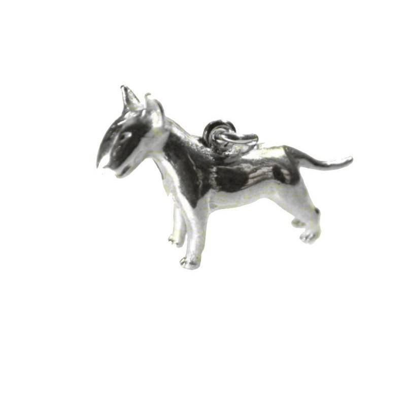 Bullterrier Anhängher Silber 925 Terrier Hund Hunde Silberanhänger Doc Silver Bild 1