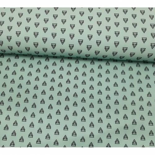 Hochwertiger Softshell Dreiecke mint