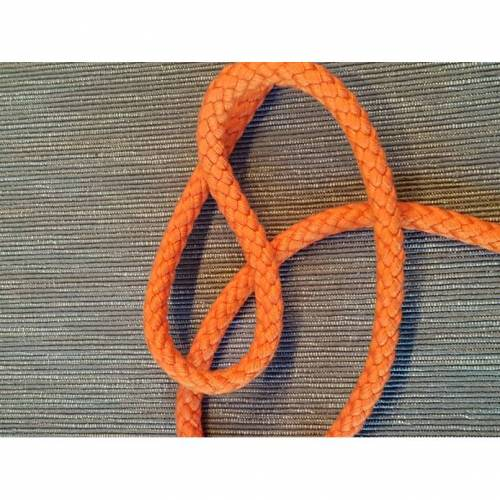 Baumwoll Kordel  8mm orange