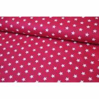 Baumwolle Petit Stars by Poppy fuchsia Bild 1