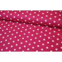 Baumwolle Petit Stars by Poppy fuchsia