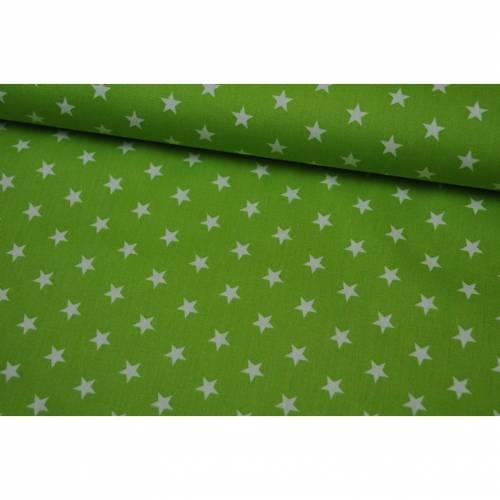 Baumwolle Petit Stars by Poppy hellgrün