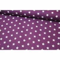 Baumwolle Petit Stars by Poppy lila