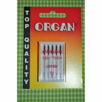 Organ Nähnadeln Jersey 90/14 Bild 1