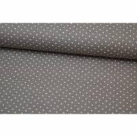 Baumwolle Small Dots by Poppy hellbraun Bild 1