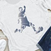 Plotterdatei Fußball, Fußballspieler, Silhouetten, 5 Designs Bild 3