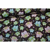 Camelot Fabrics whoos Cute braun
