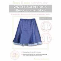 Lillesol Women No.9 Zwei-Lagen-Rock Bild 1