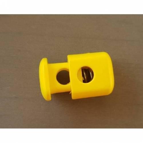 Kordelstopper für 9mm Kordel gelb