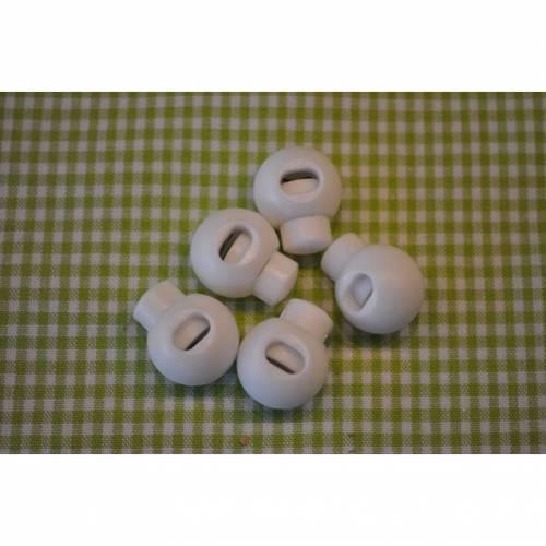 Kordelstopper weiß