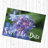 Postkarte Save the Date Bild 2