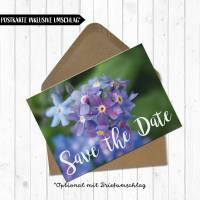 Postkarte Save the Date Bild 3