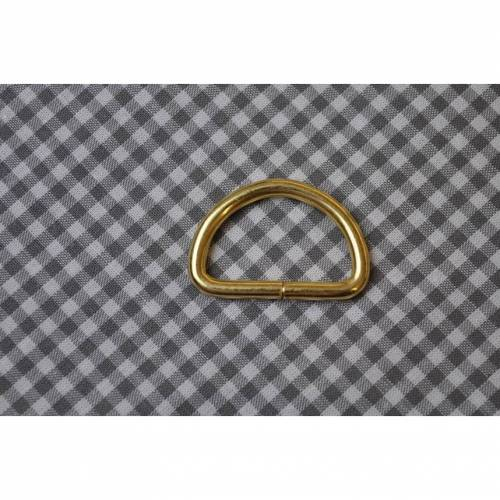 D-Ring 25 mm Gold