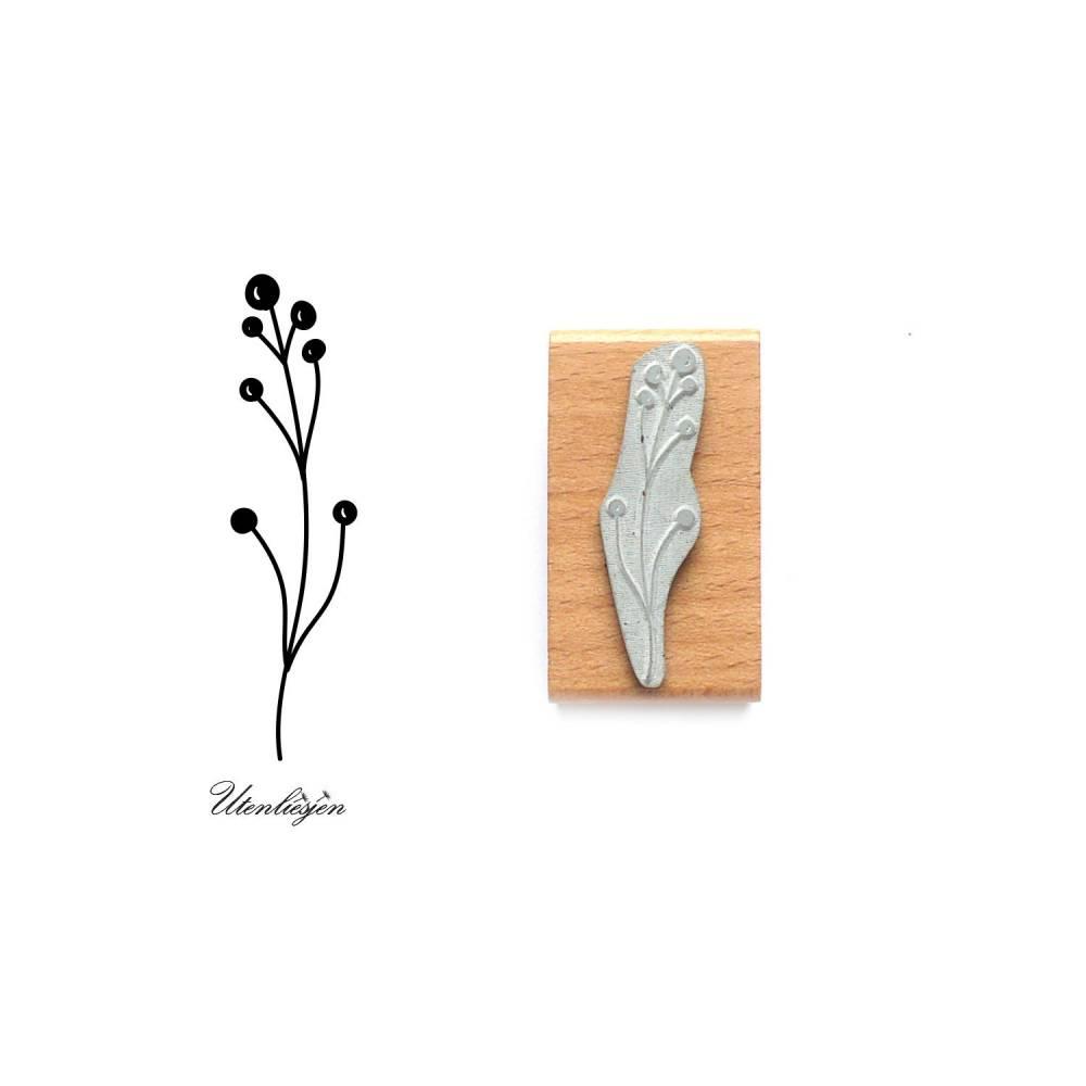 Stempel Pflanze Motivstempel Pflanze Beeren Bild 1