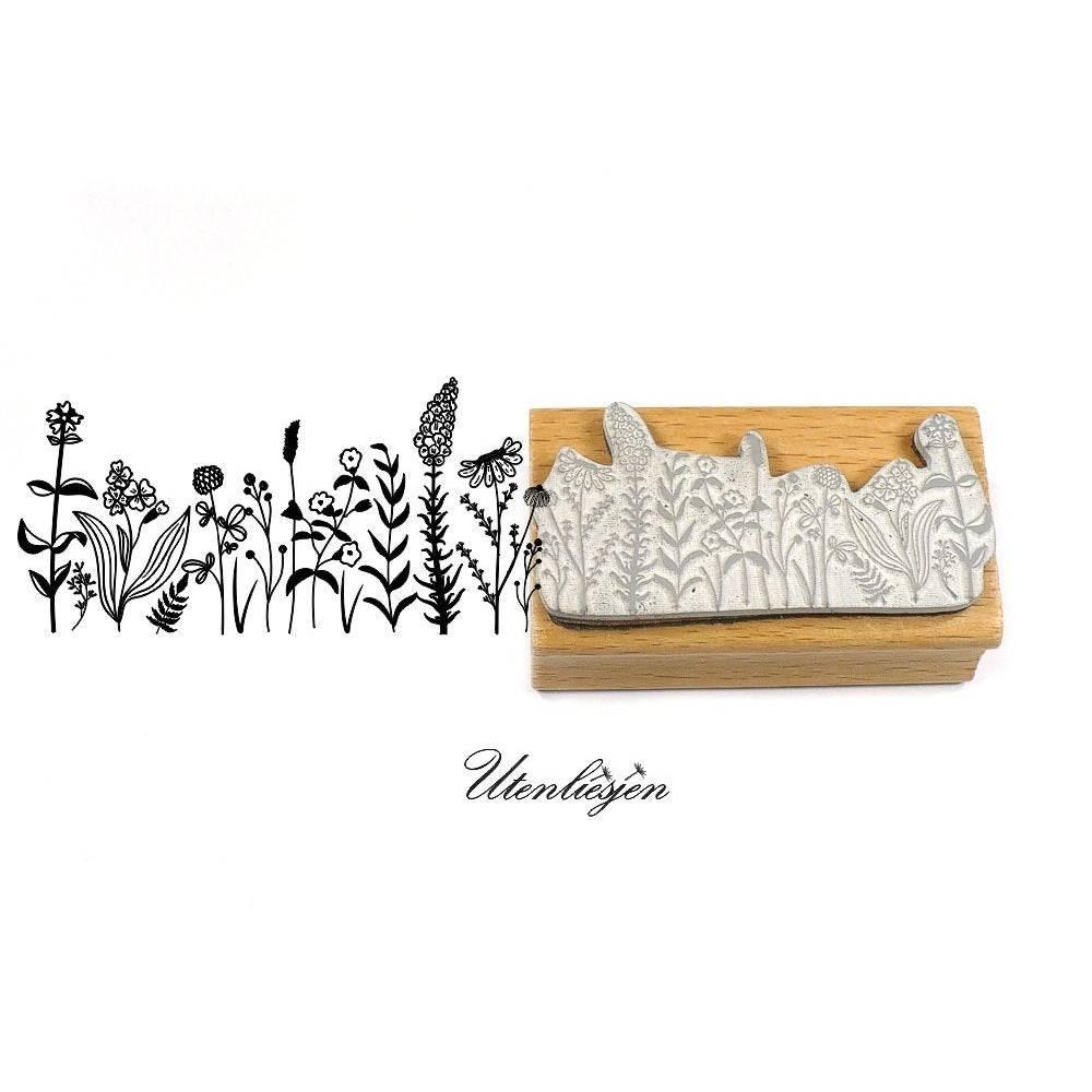 Stempel Wildblumen, Wiese Bild 1