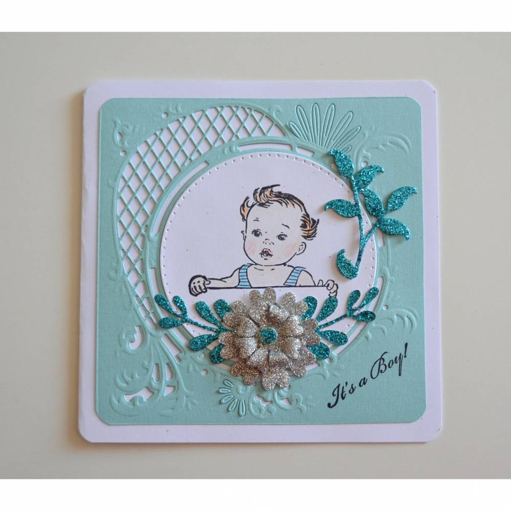 "Glückwunschkarte ""It´s a Boy"" Bild 1"