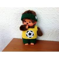 Fußball Kleidung  für Monchichi   Gr. 20 cm Bild 1