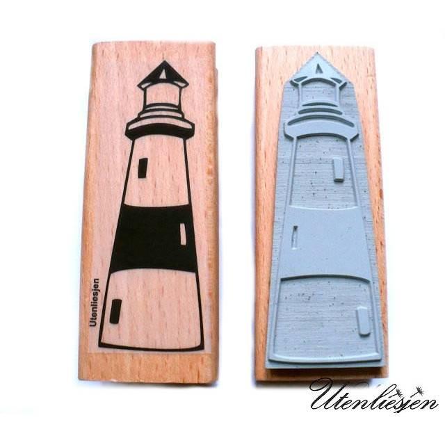 Stempel Leuchtturm Motivstempel maritimer Stempel Bild 1