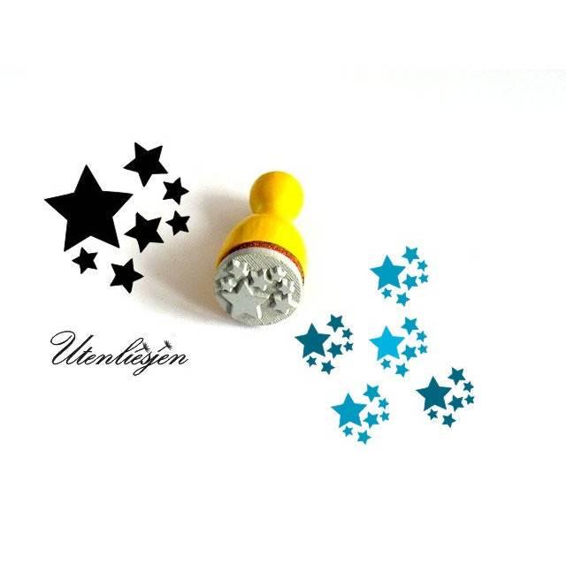 Stempel Sterne, mini, Firmament, Himmel, Ministempel Bullet Journal Bild 1