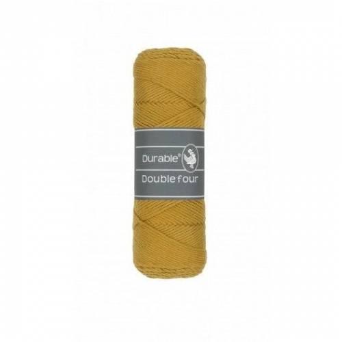 Baumwollgarn (4,25EUR/100g) Double four ochre Durable