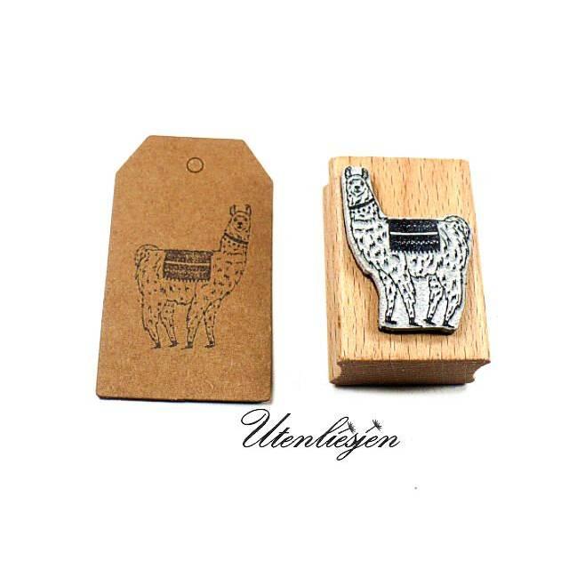 Lama Stempel Alpaca Bild 1