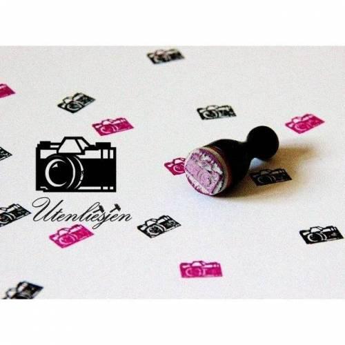 Stempel Kamera, Fotoappparat, mini,Ø 12 mm, Ministempel