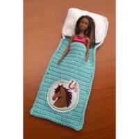 Puppenbettchen für Modepuppe  oder andere Puppen Bild 1