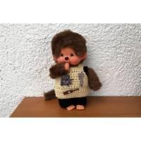 Hose und Shirt Handwerkerkleidung für Monchichi 20 cm   Bild 1