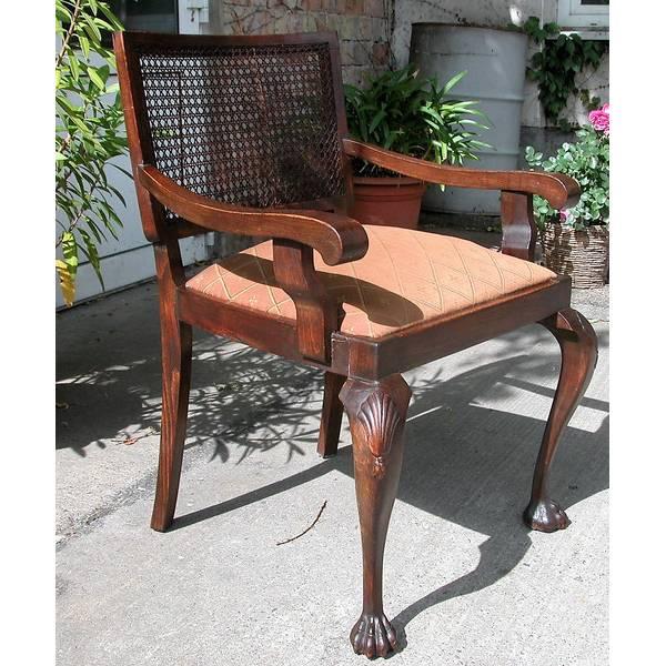 Vintage - Armlehnstuhl aus den 40er Jahren im Originalzustand Bild 1