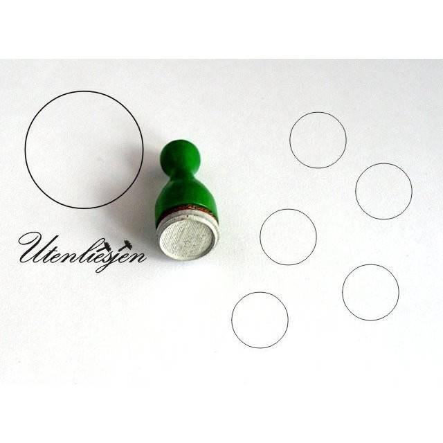 Stempel Kreis Rahmen, mini, Geometrie, Ø 12 mm, Ministempel Bild 1