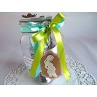 Schwangerschaft / Schwangerschafts-Survival-Kit / Befülltes Glas mit Bügelverschluss für die Schwangere Bild 1