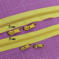 Endlos-Reissverschluss 5mm schwarz Regenbogen inkl. 4 Zipper Reißverschluss-Meterware Bild 3