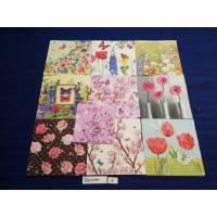 10 Servietten / Motivservietten  Blumen Mix 1 Bild 1